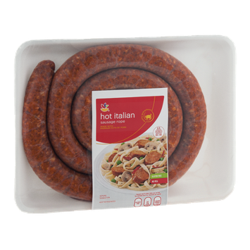Ahold Hot Italian Sausage Rope