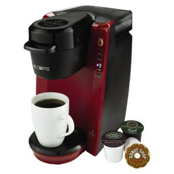 Mr. Coffee Single Serve with Keurig Brewed Technology - Red