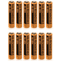 NiMH AAA 12-Pack for Panasonic NiMh AAA Batteries 4-Pack