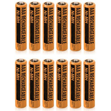 NiMH AAA 12-Pack for Panasonic NiMh AAA Batteries 4-Pack