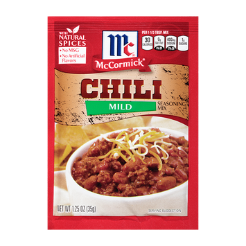 McCormick® Chili Seasoning Mix Mild