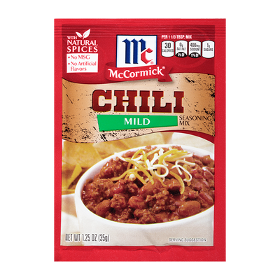 McCormick® Chili Seasoning Mix Mild