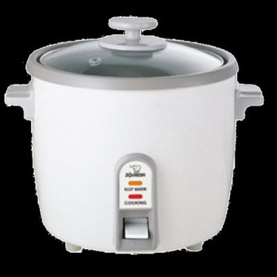 Zojirushi NHS-10WH Rice Cook/Steam/Warm - 6 Cup, White