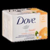 Dove Go Fresh Revitalize Bath Bar Mandarin And Tiare Flower