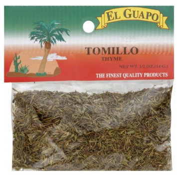 El Guapo Tomillo Thyme, 0.5 oz, (Pack of 12)