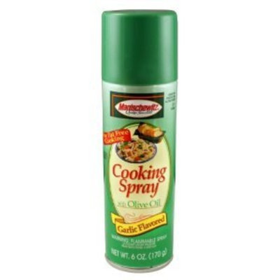 Manischewitz Cooking Spray, Garlic/Olive 6 oz. (Pack of 12) ( Value Bulk Multi-pack)