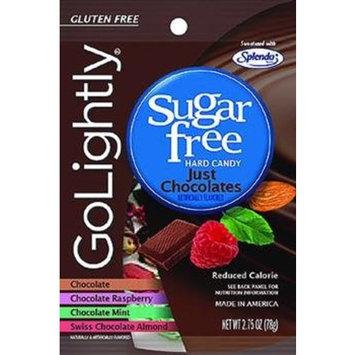 Go Lightly GoLightly Sugar Free Just Chocolates Candy (12x2.75 OZ)