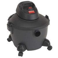 DAYTON 3VE19 Wet/Dry Vacuum, 4.5 HP, 8 gal, 120V