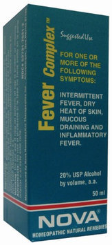 Nova Homeopathic Fever Complex 1.7 OZ