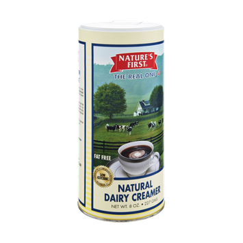 Nature's First Fat Free Natural Dairy Creamer