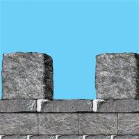 Beistle Company Beistle 225943 20 H x 30 W Stone Themed Wall Border