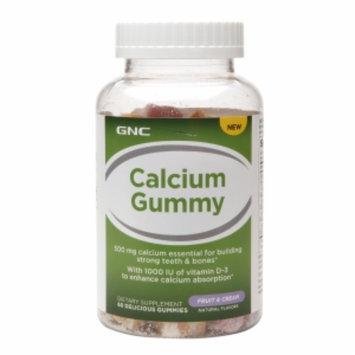Gnc GNC Calcium Gummy - Fruit & Cream