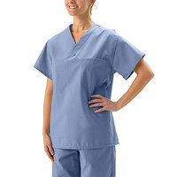 Medline - Unisex Reversible Scrub Top with Pocket