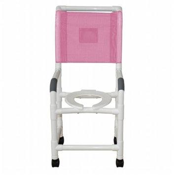 MJM International 118-3TW-H Shower Chair 18 in.