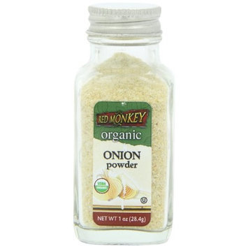 Red Monkey Foods Red Monkey Organic Onion Powder, 1 Ounce (Pack of 3)