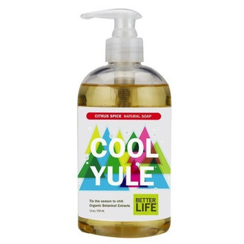 Better Life Cool Yule Hand Soap, 12 Ounce (Pack of 2)