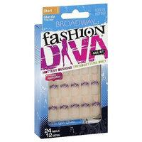 Broadway Nails Fashion Diva, Short Length, Strut, 53016