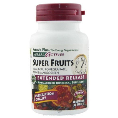 Nature's Plus Herbal Actives Super Fruits Extended Release - 30 - Tablet [Health and Beauty]