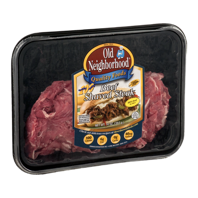 Old Neighborhood Beef Shaved Steak