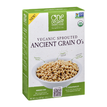 One Degree Organic Foods Ancient Grain O's