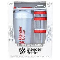 Blenderbottle Blender Bottle Combo Pack White Red Red