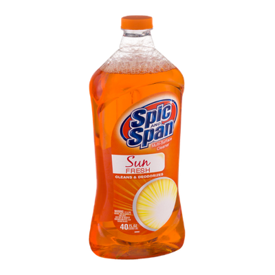 Spic and Span Multi-Surface Cleaner Sun Fresh
