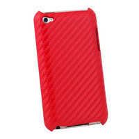 Ids Red Matts Pattern Hard Case For Apple iPod Touch 4
