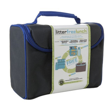 New Wave Enviro Litter Free Lunch Box w/containers, Solid, 1 ea