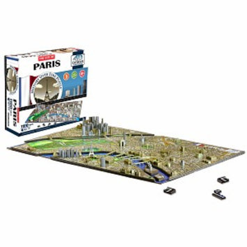 4D Cityscape Puzzle Paris Ages 12+