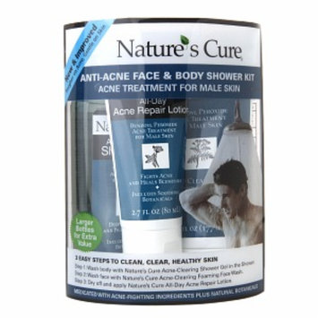 Nature's Cure Anti-Acne Face & Body Shower Kit