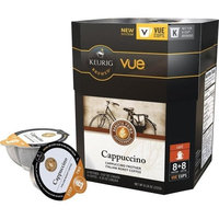 Keurig Barista Prima Cappuccino Italian Roast Vue Pack (8 Coffees and 8 Frothers) 7.5 oz