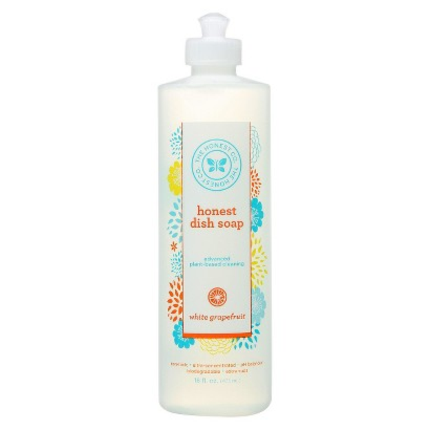 The Honest Company Honest White Grapefruit Liquid Dish Soap - 16 oz.
