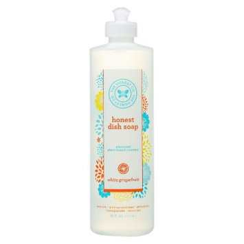 The Honest Co. White Grapefruit Dish Soap