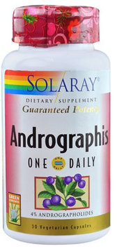 Solaray Andrographis 30 Vegetarian Capsules