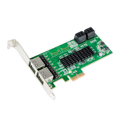 IOCrest PCI-E 2 Interface 8-Port SATAController Card w/88SE9705 Chipset