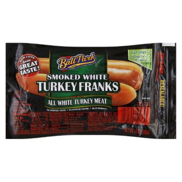 Ball Park Fat Free Smoked White Turkey Franks 14 oz