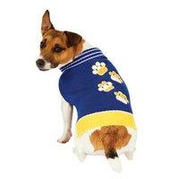 Fashion Pet Blue Pawz Dog Sweater Small