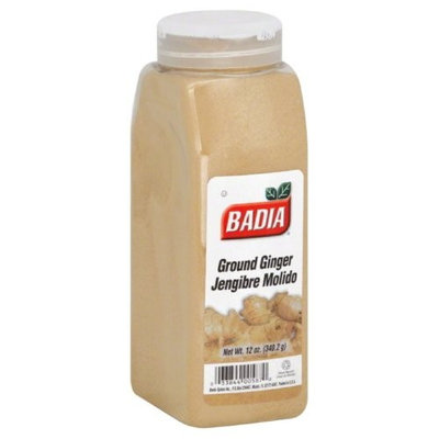 Badia Spices inc Spice, Ginger Ground, 12-Ounce (Pack of 3)