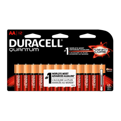 Duracell Quantum Alkaline Batteries