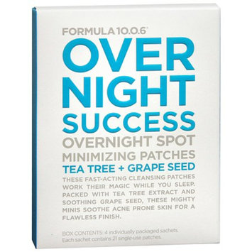 Formula 10.0.6 Over Night Success Spot Minimizing Patches