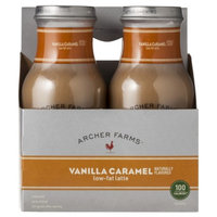 Archer Farms 4-pk. Vanilla Caramel Low-Fat Latte 9.5-oz.