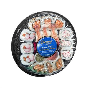Okami Variety Platter - 15 CT
