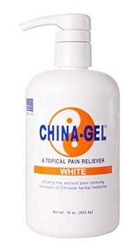 China-Gel 16oz Bottle White with Pump