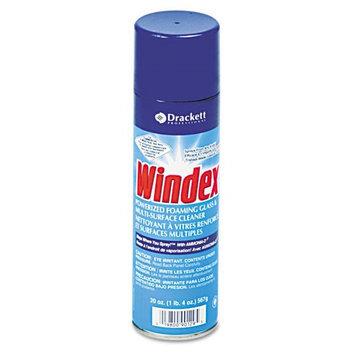 S.c. Johnson WINDEX Powerized Formula Glass and Surface Cleaner, 20-oz. Aerosol