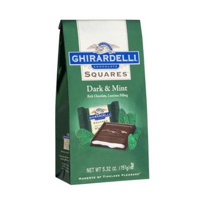 Ghirardelli Dark & Mint Filled Chocolate Squares 5.32 oz