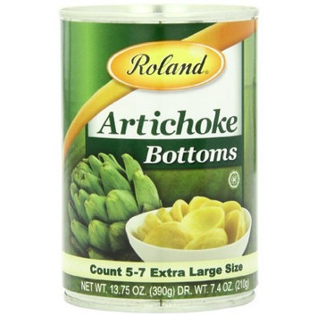 Roland Artichoke Bottoms, 13.75-Ounce Cans (Pack of 6)