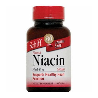 Schiff Niacin Flush Free 500 mg 100 Tablets