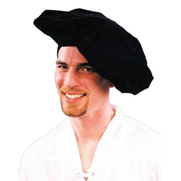 Costumes For All Occasions GC159 Renaissance Hat Black