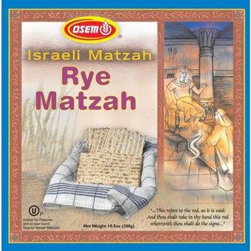 Osem Rye Matzah (Kosher for Passover), 10.5-Ounce Boxes (Pack of 6)