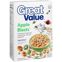 Great Value: Apple Blasts Cereal, 19.1 Oz